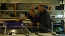 Het Sinnergy Solar Team ROC Friese Poort (beeld: JC-Electronics)'