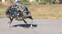 De WildCat in galop. (Foto: Boston Dynamics)'