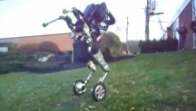De Handle-robot van Boston Dynamics.'